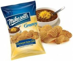 Have you tried Cincinnati Style Chili potato chips? YUM.
