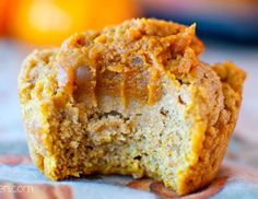 Pumpkin Pie Filled Muffins