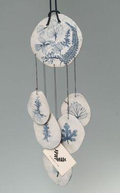 porcelain wind chime