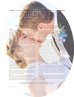 LDS Picture Personalized Proclamation to the by HandyHandouts, $10.00