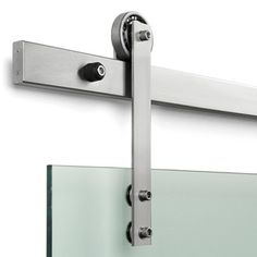 Fantastic sliding door hardware.    Dwell | At Home in the Modern World: Modern Design & Architecture