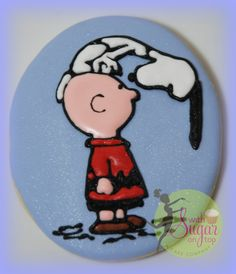 Charlie Brown and Snoopy cookie