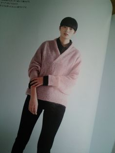 'Michiyo' new pattern book from Rakuten and knit in Hamanaka alpaca mohair Finu 210g