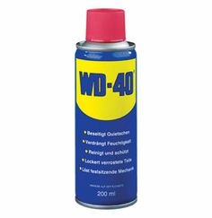 Cleaning uses of WD-40! Cool!