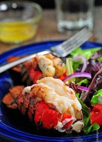 Smoked Lobster Tails Recipe | ©addapinch.com