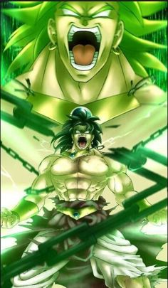 Broly, the unchained destroyer.