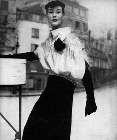Bettina, Vogue 1953...