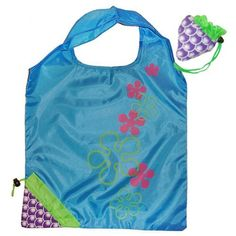 Eco Shopping Bag - Foldable Grape by Vigorgift. $4.99