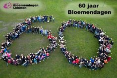 Beautifull Flower Mosaic event in a small town called Limmen - The Netherlands. 28 April - 3 May.