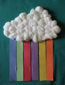 Rainbow craft can be used as a promise activity