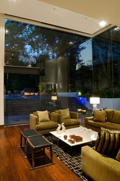 Contemporary Home in Mexico City #living_room