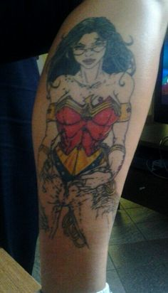 Wonder woman tattoo :-)