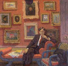 Edward Le Bas - Raymond Mortimer (c.1946)
