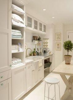 linen/laundry room