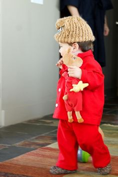 This kid has the most amazing Halloween costume EVER!! He's a llama in pajamas!!