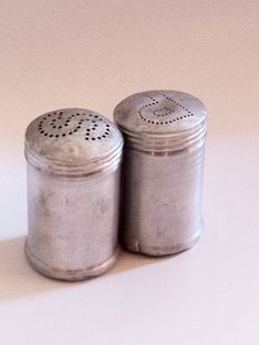 1950's Salt & Pepper Shakers ~ We had these growing up! salt pepper shakers, salt shakers, 1950s salt