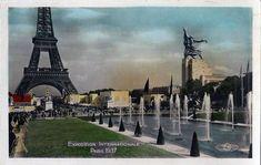 Vintage Postcard (Paris, 1937)