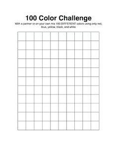 100 tinten/tonen