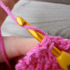 One of the most basic and useful crochet stitches, this tutorial will show you how to slip stitch step by step.