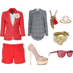 Red Rover, created by theaffluentacademy on Polyvore