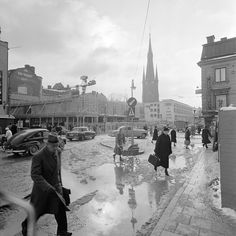 Klarabergsgatan 1958