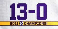 SEC  Champs...Once Again!!!!!