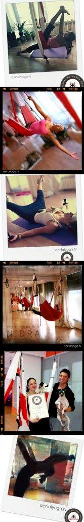 Aerial Yoga Nidra: Deep Relax on the Swing