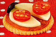 Cheesy RITZ Ladybug recipe