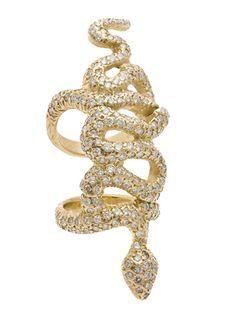 Loree Rodkin Snake Baby Bondage Ring