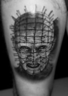 Hellraiser Tattoo / Pinhead Tattoo - Tattoo by Riccardo Cassese
