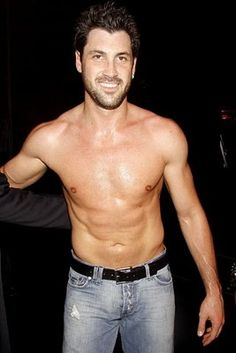 Max Chmerkovskiy. Russian, and a Dancer!! Double points!!!
