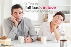 Loveless marriage? 4 Tips to fall back in love with your spouse