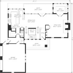 Houseplans on pinterest house plans lake house plans for Southernlivinghouseplans com