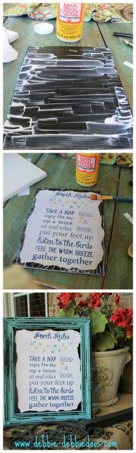 5 creative craft ideas with free printables - Debbiedoo's
