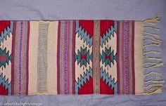 vintage mexican rug