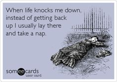 nap for me, please.