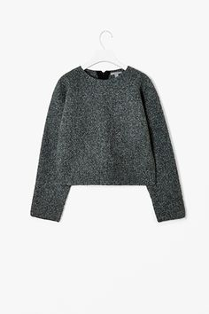boiled wool jumper by cos.