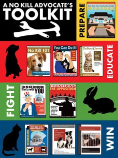 No Kill Advocacy Center  A No Kill nation is within our reach…Please look at this. Education, downloads, resources for making change in your community.