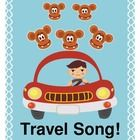 """FIVE LITTLE MONKEYS, RIDING IN A CAR!"" - TRAVEL SONG AND CRAFT!  ""Five little monkeys, riding in a car!  The first one said, ""Do we have to go far?""  Feel like you're traveling with a car full of monkeys?  Stuck on a camp bus full of 'the wiggles'?  Do your kids just need to MOVE?  Sing a funny song with a 'beat'!  Make the Monkey-on-a-Stick craft before leaving home, and you're ready to sing with your traveling buddy!  Not traveling soon?  Line up chairs as a 'bus' and go virtual!  (5 pages) $"