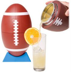 Football Cocktail shaker, cute for tailgating!  #UltimateTailgate #Fanatics