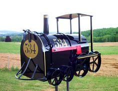 Train Mailbox.