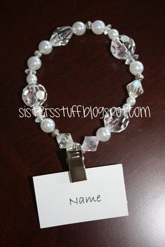 Temple bracelet w/a name clip!!!