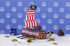 kindergeburtstag torte party piratenschiff Kindergeburtstag: Torte für süße Prinzessinnen und wilde Piraten
