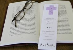 These plantable bookmarks are great for people who loved to garden and read. Put their name on them and a special verse. Plant and forget-me-not flowers grow. $1.65 each in quantity of 100. #plantable cross seed bookmark, #forget me not seed bookmarker