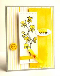 Daffodil Orchids by Luv Flowers - Cards and Paper Crafts at Splitcoaststampers