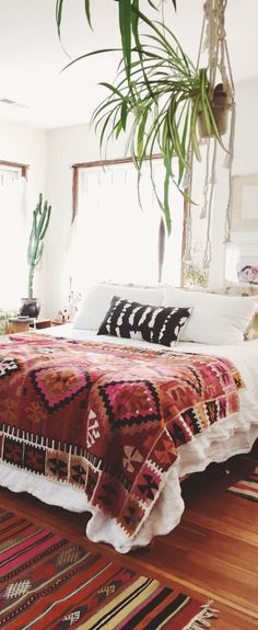 Bohemian Bedroom #bo
