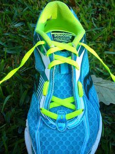 "How to tie your running shoes to fit your feet better. ""A podiatrist showed her this trick! wow - the high arches, vs. wide foot tie is fantastic."""