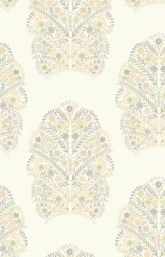 Margarita Floral wallpaper from Kreme Life's Muse Collection