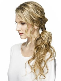 messy ponytail • makeup.com