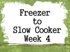 6 Crockpot Recipes, Shopping List & Assembly Order  Pulled Pork, Easy Slow Cooker Chili, Macaroni & Cheese, Sweet & Sour Meatballs, Chicken & Noodle Soup, Sloppy Joes
